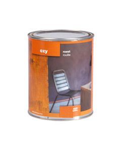 Roest Verf / Roest effect verf op hout 0,5 liter